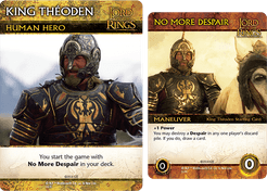 The Lord of the Rings: The Return of the King Deck-Building Game – King Théoden Promo Cards