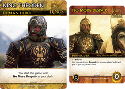 The Lord of the Rings: The Return of the King Deck-Building Game – King Théoden Promos