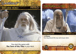 The Lord of the Rings: The Two Towers Deck-Building Game – Gandalf Promo Cards