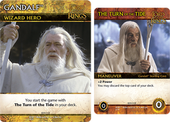 The Lord of the Rings: The Two Towers Deck-Building Game – Gandalf Promos