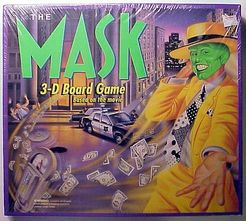 The Mask 3-D Board Game