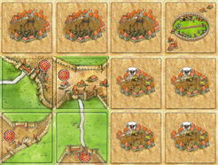 The Medieval Expansion (fan expansion for Carcassonne)