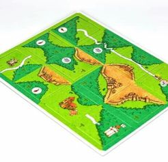 The Mount Of The Duke (fan expansion to Carcassonne)