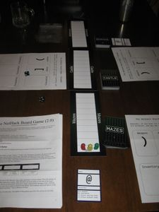 The NetHack Board Game