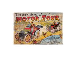 The New Game of Motor Tour: A journey of 440 miles from Edinburgh to London with incidents en route