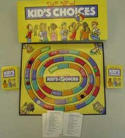 The New Kid's Choices Board Game