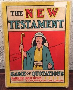 The New Testament Game of Quotations