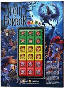 The Night of Horror Dice