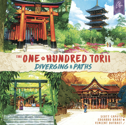 The One Hundred Torii: Diverging Paths