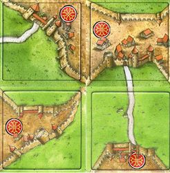 The Orders of Chivalry (fan expansion to Carcassonne)