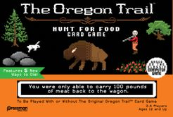The Oregon Trail: Hunt for Food Card Game