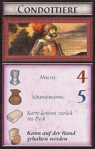 The Prince: The Struggle of House Borgia – Condottiere