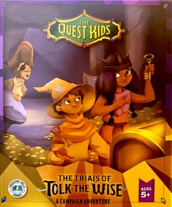 The Quest Kids: The Trials of Tolk the Wise