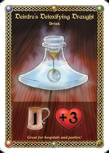 The Red Dragon Inn: Deirdre's Detoxifying Draught