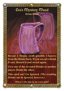The Red Dragon Inn: Eve's Mystery Mead