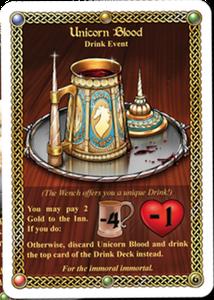 The Red Dragon Inn: Unicorn Blood