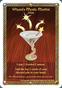 The Red Dragon Inn: Wizard's Mystic Martini