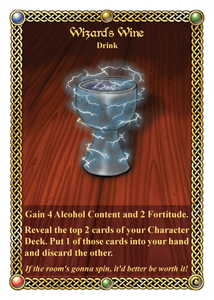 The Red Dragon Inn: Wizard's Wine
