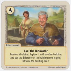 The Rivals for Catan: Axel the Innovator