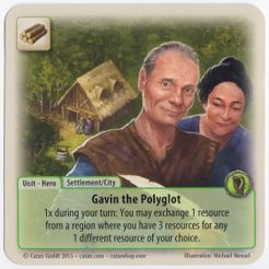 The Rivals for Catan: Gavin the Polyglot