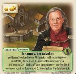 The Rivals for Catan: Johannes the Advocate