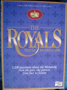 The Royals Trivia Board Game