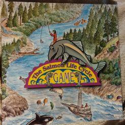The Salmon Life Cycle Game