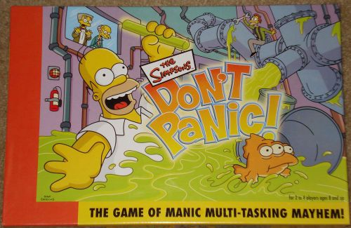 The Simpsons: Don't Panic