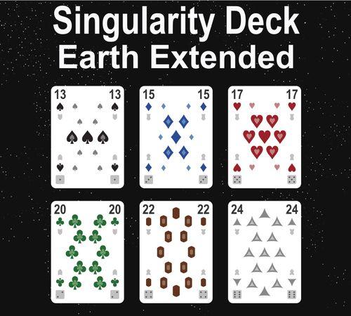 The Singularity Deck: Extended Ranks