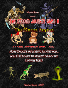 The Spooks Journey Game II: The Killer Sequel