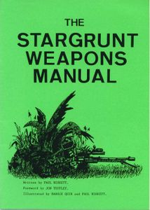 The Stargrunt Weapons Manual