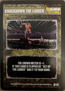 The Supershow: Knockdown the Ladder Promo Card