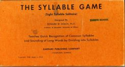 The Syllable Game