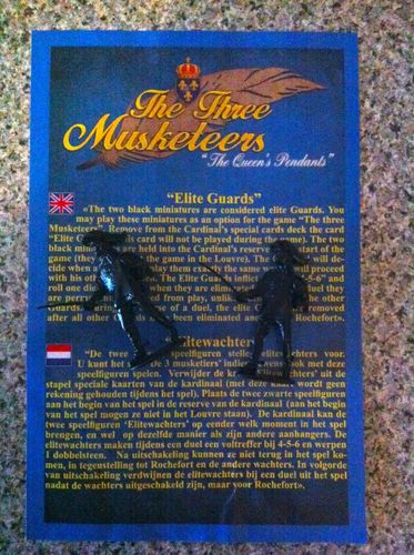 The Three Musketeers: The Queen's Pendants – Elite Guards expansion