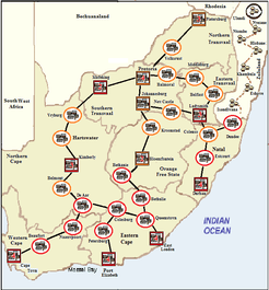The Transvaal Ablaze: A Solitaire Game of the Boer Wars in South Africa