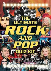 The Ultimate Rock and Pop Quiz Kit