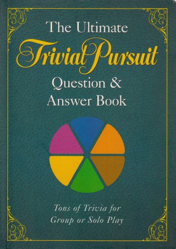 The Ultimate Trivial Pursuit Question & Answer Book Board Game