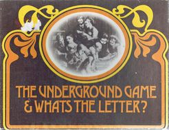 The Underground Game & What's the Letter?