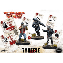 The Walking Dead: All Out War – Tyreese, Prison Advisor Booster