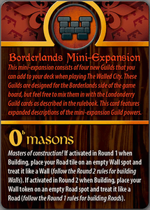 The Walled City: Borderlands Mini-Expansion