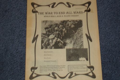 The War to End All Wars: WWI Axis & Allies Variant