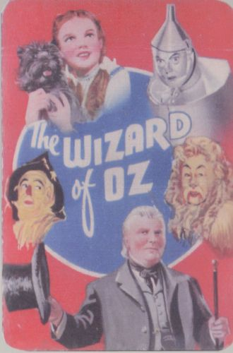 The Wizard Of Oz Card Game