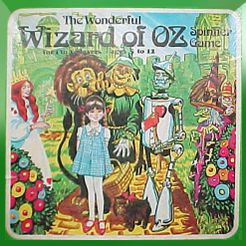 The Wonderful Wizard Of Oz Spinner Game