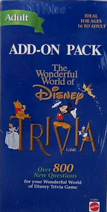 The Wonderful World of Disney Trivia Add-on Pack (Adult)