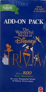 The Wonderful World of Disney Trivia Add-on Pack (Adult)