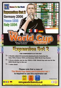 The World Cup Game:  Expansion Set 2