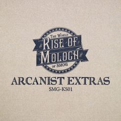 The World of SMOG: Rise of Moloch – Arcanist Extras Box