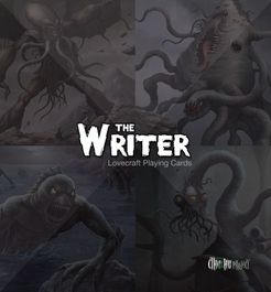 The Writer: Lovecraft Playing Cards