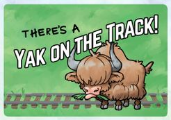 There's A Yak On The Track!