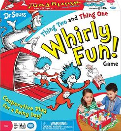 Thing Two and Thing One Whirly Fun! Game